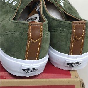 bf7e32bddb Vans Shoes - Vans Dillon CA Pig Suede Olive Green Size 8.5